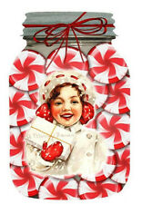 SET OF 8 CHRISTMAS CANDY (39) SCRAPBOOK CARD EMBELLISHMENTS HANG/GIFT TAGS