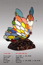 Tiffany Schmetterling ,Tiffanylampe Tiffany Lampe Tier, bunt, neu S6