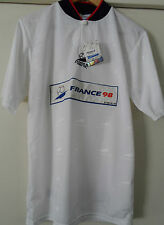 FRANCE 98 Coupe Du Monde NWT Vintage World Cup Soccer Football White Polyester