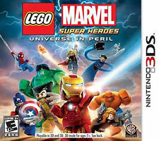 LEGO Marvel Super Heroes - Universe in Peril (Nintendo DS) COMPLETE Game+Case