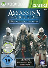 Assassin's Creed - Heritage Collection (Xbox 360, kompl. in deutsch, Anl.) B83