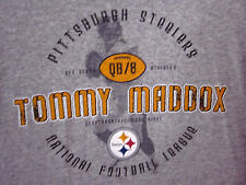 PITTSBURGH STEELERS Tommy Maddox longsleeves med T shirt 2002 quarterback tee