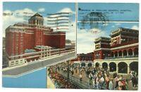 Postcard Atlantic City NJ Thomas M England General Hospital Multi View Boardwalk
