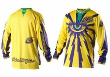TROY LEE DESIGNS TLD mens motocross GP jersey CYCLOPS yel/pur LARGE