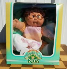 New ListingCabbage Patch Kids 1987 Felice Claudette in Box Complete Yarn Glasses Dimple Nos