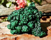 Natural Silky Malachite Specimen from Congo M6