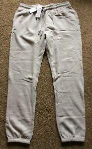 Bnwt Lacoste Sport Core Joggers - Grey - Size 7 / XXL