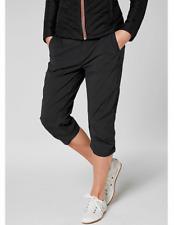 Helly Hansen Women's Size 31 (11/12) Crewline Capri Ebony 53045-980 $75.00
