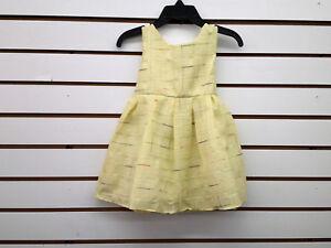 Infant & Toddler Girls OshKosh B'gosh Green/Orange/Yellow Dress Sizes 18Mth-2T