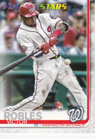 2019 TOPPS BASEBALL SERIES 2 CARD - # 402 - VICTOR ROBLES - WASHINGTON NATIONALS
