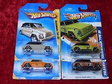 2009/2011 Hot Wheels New Models/Faster Than Ever Volkswagen Type 181 4 PK