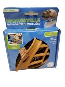 Baskerville Ultra Muzzle for Dogs Black Size 2 Cocker Spaniel/Beagle (B4)