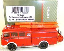 Vehículo de Lucha contra el Fuego LP311 LF16 Bachert Quickborn Heico HC2026