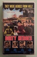 frederick stafford DIRTY HEROES  daniela bianchi    VHS VIDEOTAPE sp mode