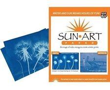 Sunprint Sun Art Solar Refill 8 x 10 Paper Acrylic Panel Photosensitive Print 15