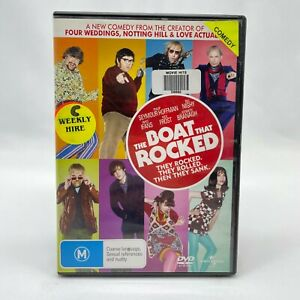 The Boat That Rocked (DVD, 2009) Regions 2,4&5 With Bill Nighy In Good Condition
