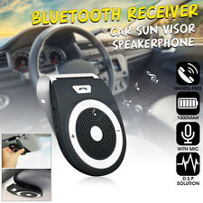 Wireless Car Kit Bluetooth Receiver Stereo Musik Adapter Lautsprecher 4