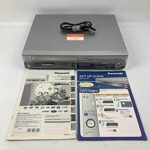 PANASONIC DMR EH75V VHS DVR 80GB HDD RECORDER  (No Remote)