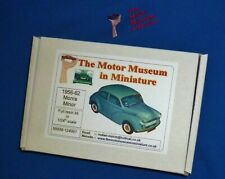 Raro 1/24th Escala Kit de modelo de resina Morris Menor por el motor Museum en miniatura