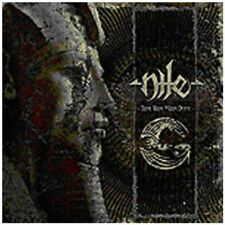 Those Whom The Gods Detest - 2 DISC SET - Nile (2013, CD NUOVO)