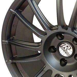 MTM Nardo Felge 8x18 5x112 Schwarz SUPER LIGHT Audi VW Seat Skoda