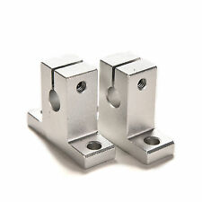 2PCS SK8 8mm Bearing CNC Aluminum Linear Rail Shaft Guide Support U9D4