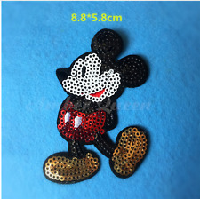 PATCH ECUSSON THERMOCOLLANT STICKER ★MICKEY★ TOPPA DISNEY 8 CM x 6 CM