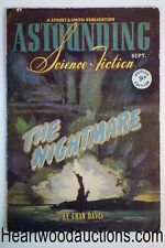 Astounding (British) Sep 1946 Arthur C. Clarke, A.E. van Vogt, Fredric Brown