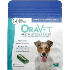 Oravet Dental Hygiene Chews Small Dogs 10-24lbs 14ct By Merial