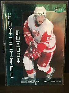 2001-02 Parkhurst Beckett Promos #254 Pavel Datsyuk MNM