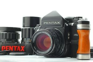 [N Mint 3 Lens] Pentax 67 TTL Late Camera + SMC 6X7 55mm 105mm 200mm from JAPAN