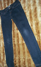 Aéropostale womens juniors 1/2 skinny denim Legging jean  PANTS blue stretch