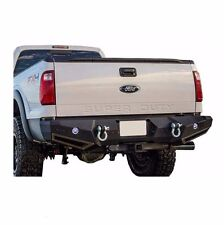 Smittybilt M1 Rear Bumper with D-ring Mounts for 99-16 Ford Superduty, 614830