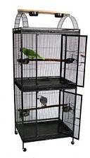 Waimea Wingplex Double Decker Wrought Iron Bird Flight Canaries Parrot Cage 111