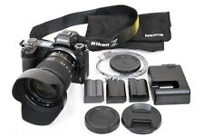 Nikon Z6 With 24-70mm F4.0 Lens, 3 Batteries, Camera Bag.Only 969 actuations.
