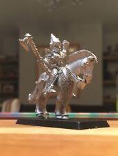Warhammer, Oldhammer. Madera Alta Elf/Elfos-Elfo Señor/Metal general Caballo 80s