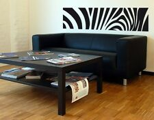Zebra Print Decorative Strip - highest quality wall decal stickers