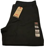 Levis XX Chino Taper Pants Mens Size 36x32 Blue Twill Stretch Trousers