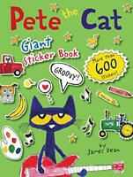 Pete the Cat Giant Sticker Book by Dean, James, NEW Book, FREE & Fast Delivery,