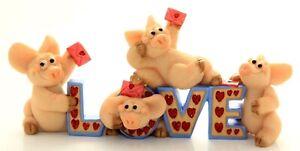 Collectable world-piggin'*Piggin' Love Letters*No.14175-rare