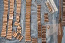 OMEGA Constellation 18K Gold Steel Lady Gent Men Bracelet Link Clasp 12 14 16mm