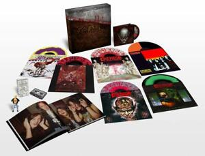 Kreator Under the Guillotine Deluxe Colored 6 Vinyl LP Box DVD USB Stick Buch