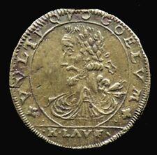 JETON HENRI IV / VVLTV QVO COELVM - FRANCE - 1607 H.Lauffer - Royal Token
