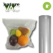 ALL CLEAR NatureVac Vacuum Seal Bags 2 Rolls - 11 in. x 19.5 ft Clear/Clear