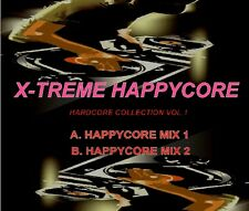 X-TREME HAPPYCORE VOL.1 - HAPPY HARDCORE DJ STUDIO MIX CD 2007