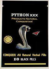 10 Python XXX Male Enhancement Sex Pills for EXTREME ENHANCEMENT for Him/Her!