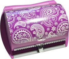 NEW DiscGear Selector 50FX 50-Disc CD Case w/Title Sheet (Purple)