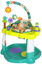 New listing Baby Bouncer Activity Center Jumper with 360 Degree Rotating Seat Play Toy Bar