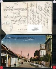 124511,Gruss aus Pöstyen Tüköri Villa m. Franz Josef Strasse RARE