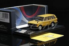 Diecast Car Model Almost Real Land Rover Range Rover 1970 1:43 (Yellow) + GIFT!!